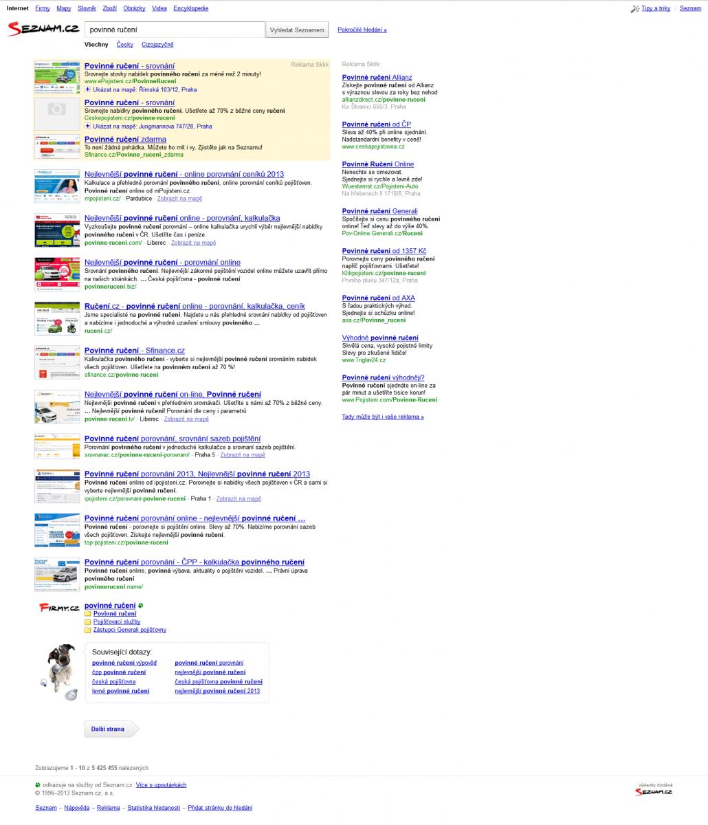 seznam online podvodníků
