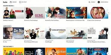 Uživatelské rozhraní Hulu