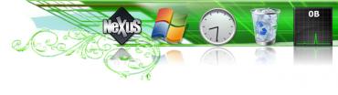 Winstep Nexus - ukázka dalšího skinu pro panel
