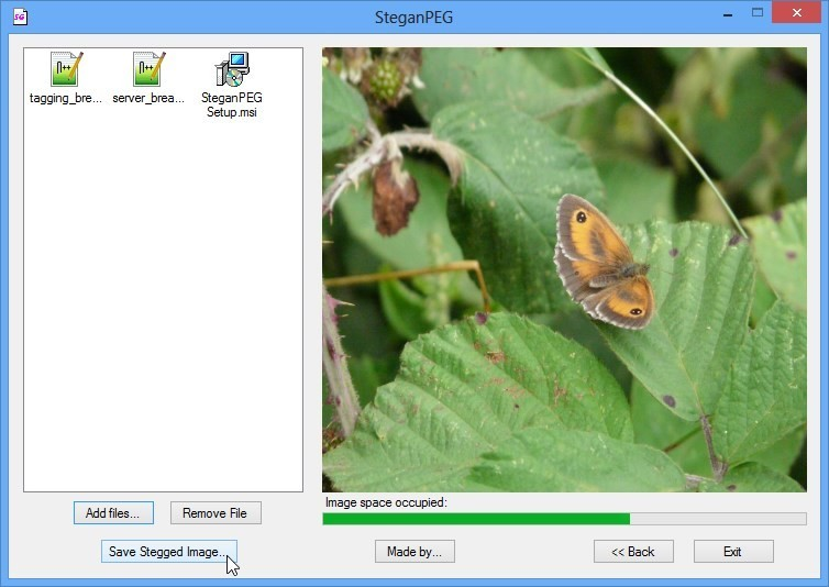 Pomocí SteganPEG zašifrujete data do obrázku