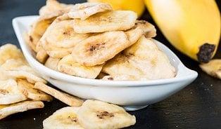 Vitalia.cz: Test: Sušené banány jsou ve skutečnosti smažené