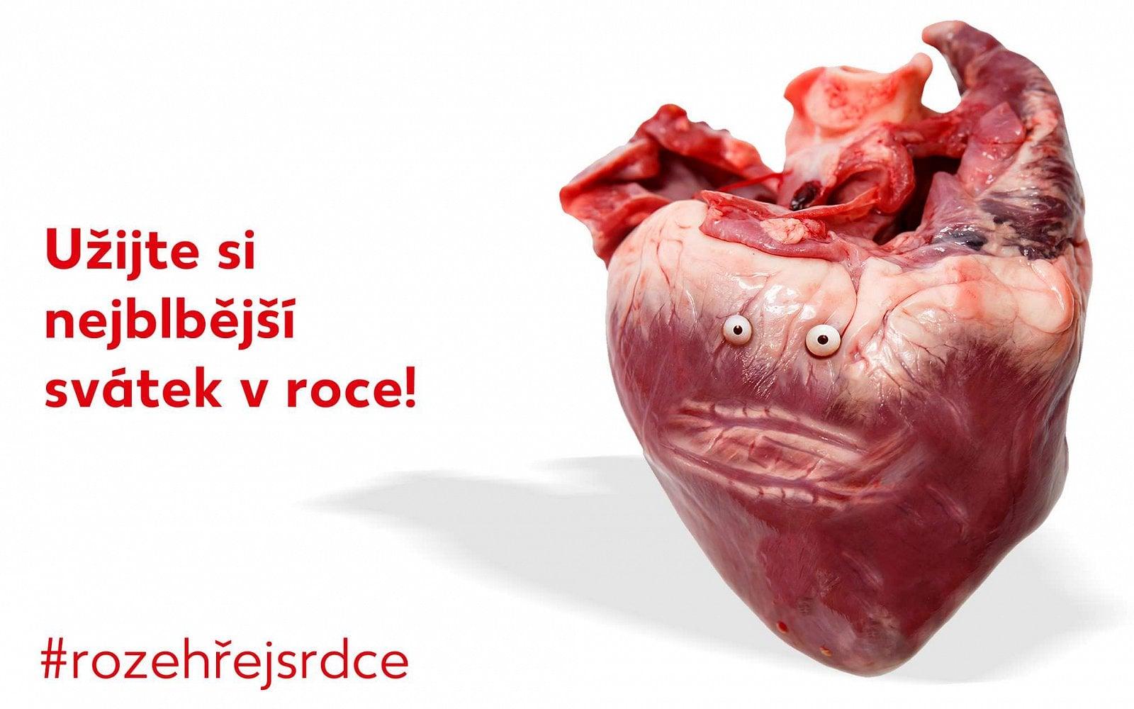 Valentýnská antikampaň Kauflandu