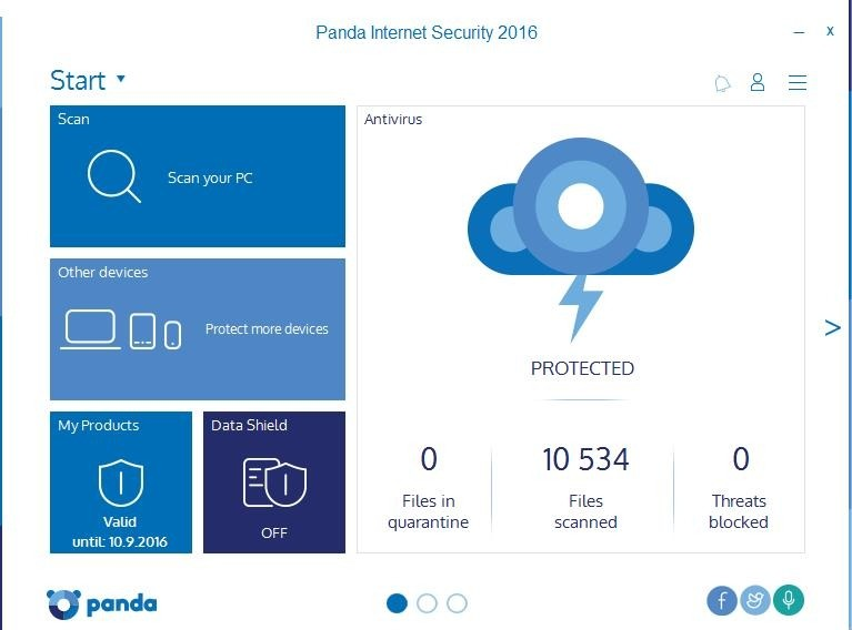 Panda Internet Security 2016