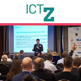 Logo ICT ve zdravotnictví 2020