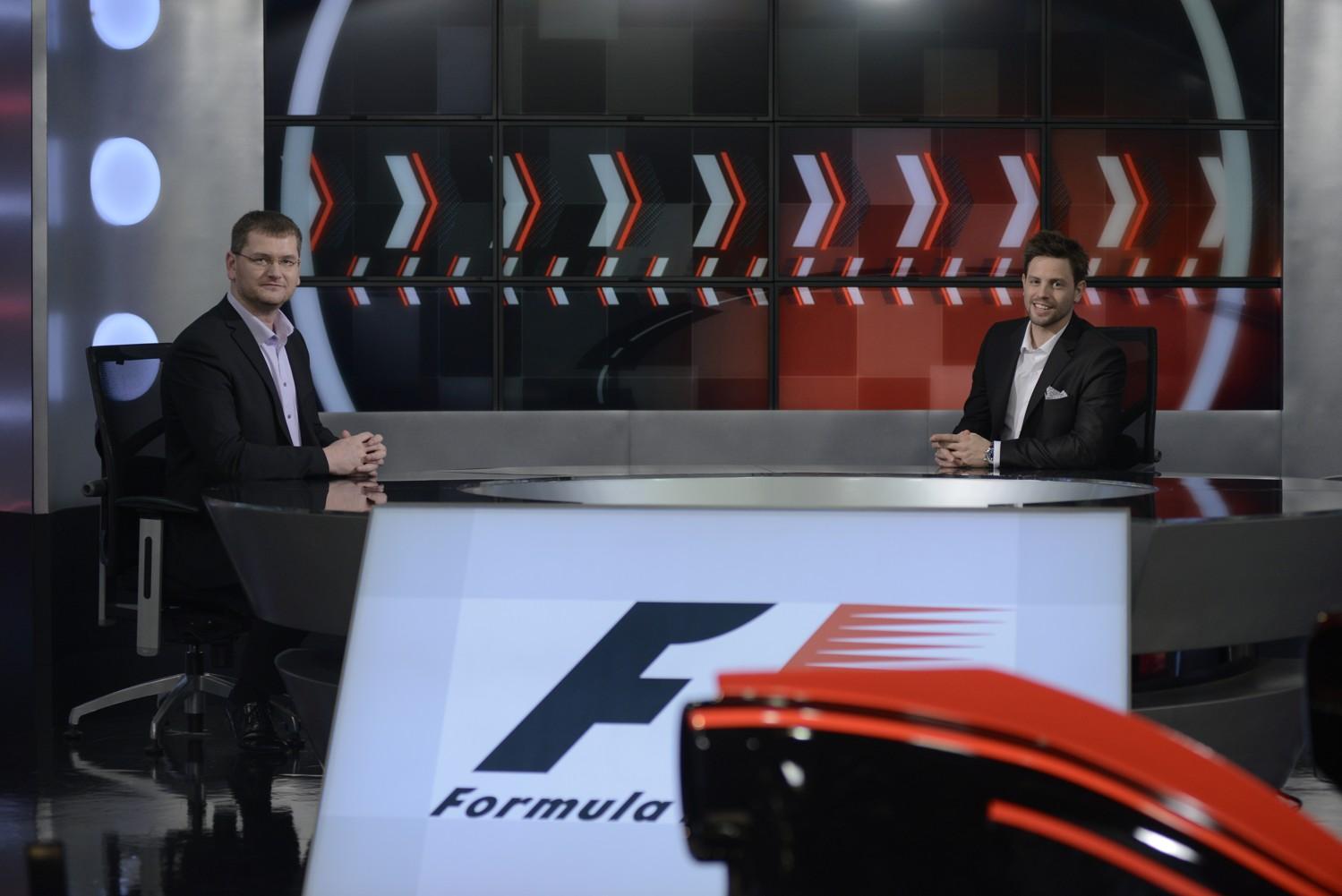 Sport1 HD a Sport2 HD odhaluje nové studio Formule 1