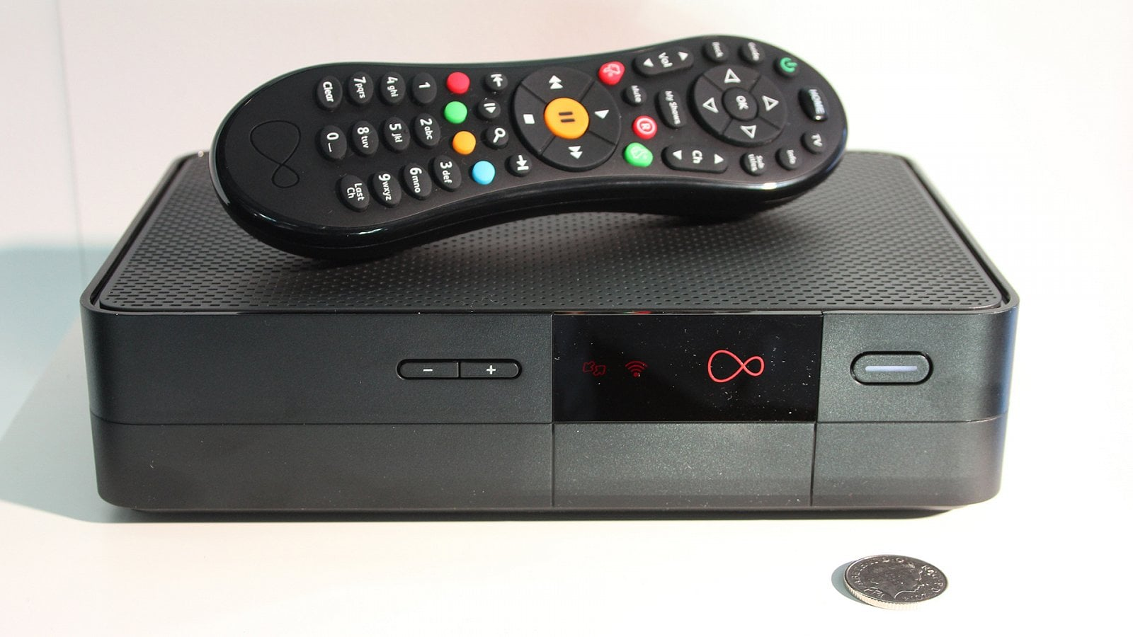 Virgin TV box