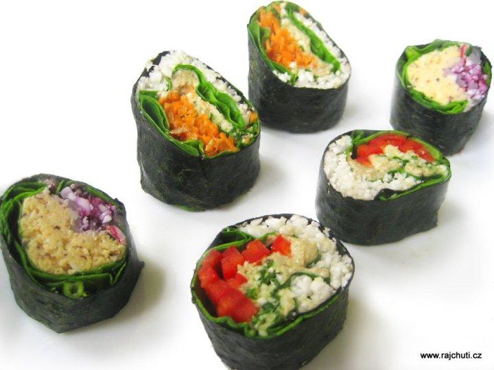 Zeleninové sushi