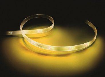 Nejnovější osvětlovací vychytávkou Philipsu, je Hue Lightstrip Plus. Po Wi-Fi žárovkách Hue, které si můžete sladit s osvětlením Ambilight vašeho televizoru je tu i nalepovací pásek, který můžete umístit za váš další televizor bez osvětlení pozadí. Dá se z něj ale vytvořit i nevtíravé nepřímé osvětlení, dá se napojovat, ale také zkracovat obyčejnými nůžkami.