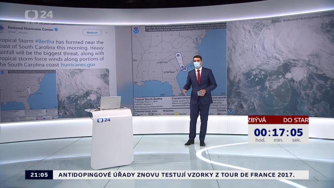 [aktualita] Historický let Crew Dragon vysílala ČT24 i česká CNN. Diváci dali přednost ČT