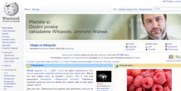 Přispějte na provoz Wikipedie