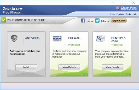 Zdarma dostupný firewall s názvem ZoneAlarm nabízí takové funkce, které ve firewallu integrovaném ve Windows nenajdete.