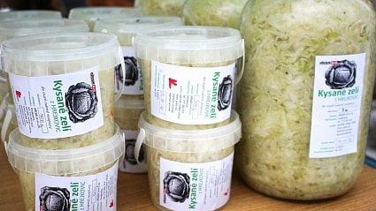 Vitalia.cz: Nákup na trhu: kysané zelí ivánoční marmelády