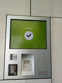 Platební automat.