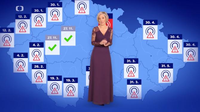 [aktualita] Novoroční přípitek s upozorněním na konec DVB-T vidělo 1,6 milionu lidí