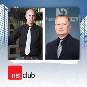 Logo NetClub s Honzou a Vaškem
