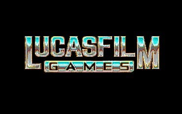 The Secret of Monkey Island - logo LucasArts - Atari ST.