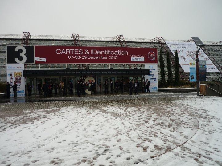 Cartes 2010, výstaviště Pairs Nord - Villepinte
