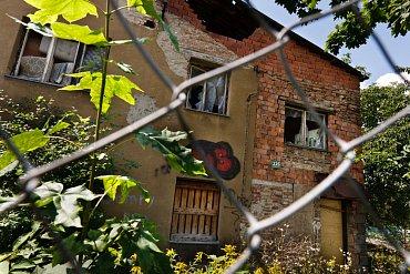 Trvalé bydliště Veroniky Kočové. Podle svého tvrzení a svědectví sousedů tu však nebydlí.