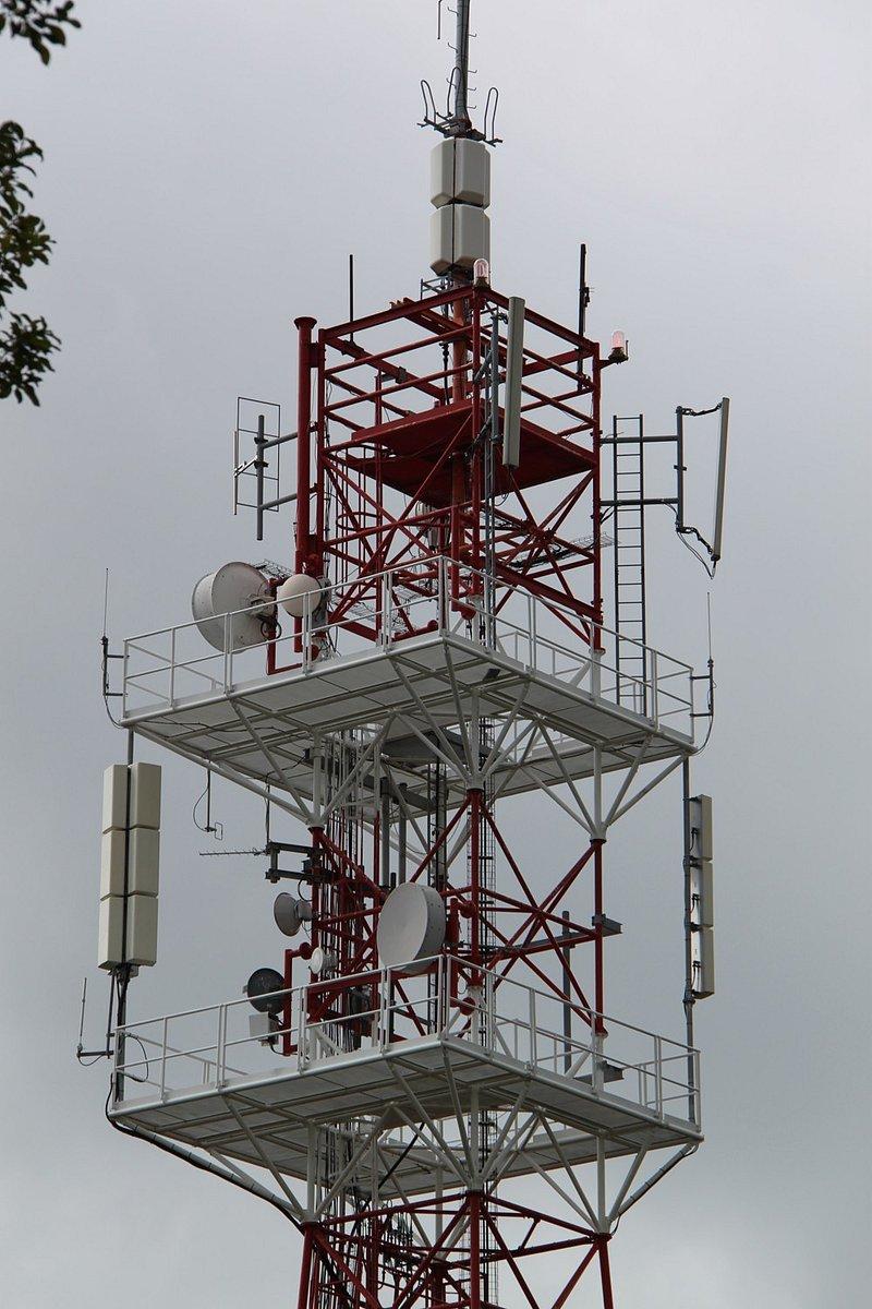 Praha - Ládví - Vysílací síť 4 plus Regionální sítě 4 a 7