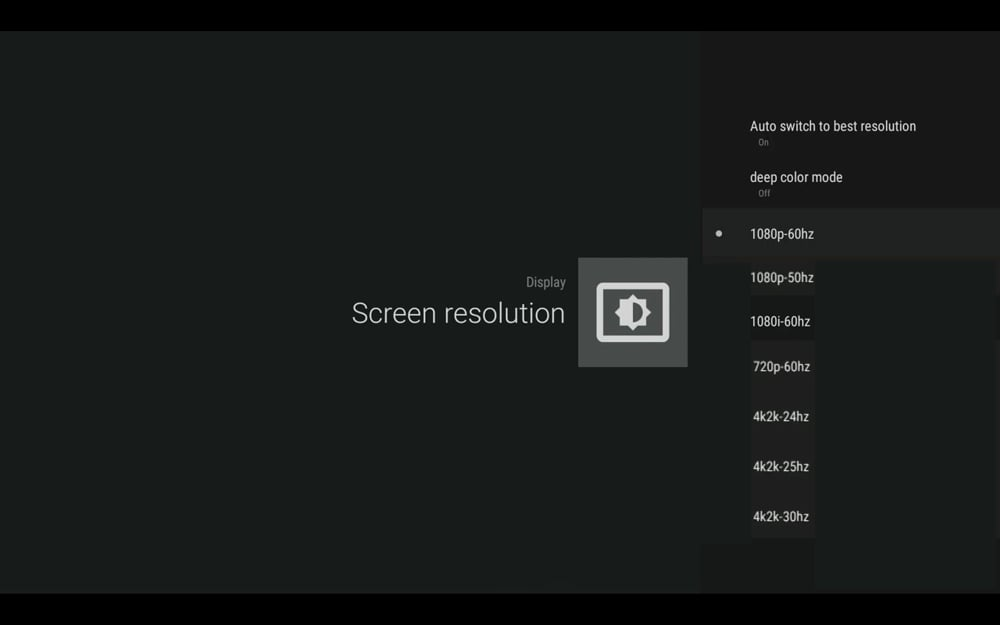 Uživatelské menu – verze s Custom Rom Superceleron