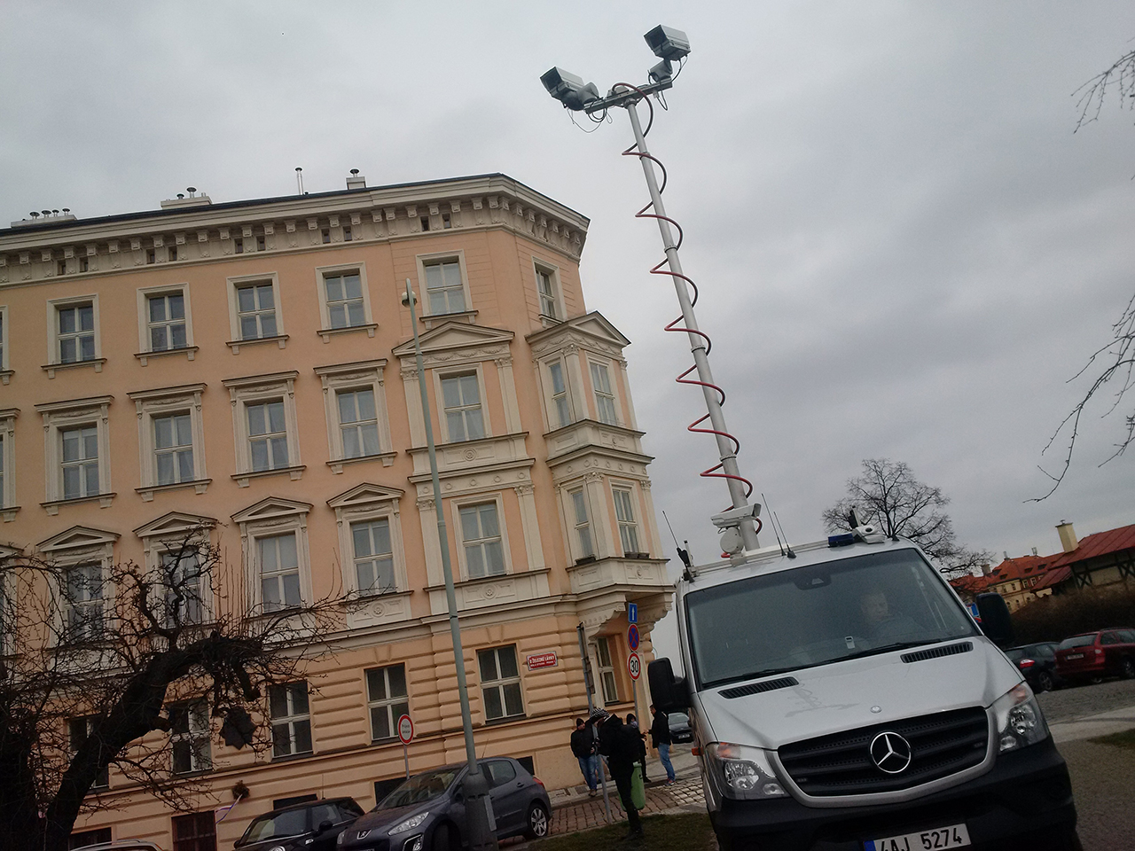 Demonstrace za svobodný internet v Praze 20.2.2016