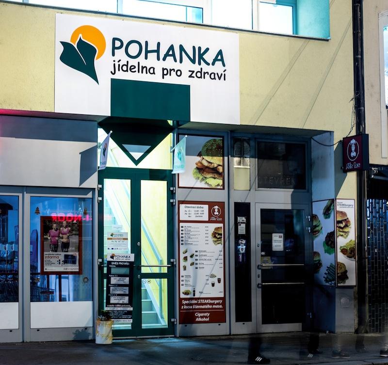 POHANKA - jídelna pro zdraví slouží Pardubičákům už rok.