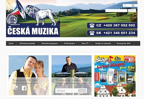 Vydavatelství Česká Muzika už na našem trhu působí úspěšně od první poloviny devadesátých let.