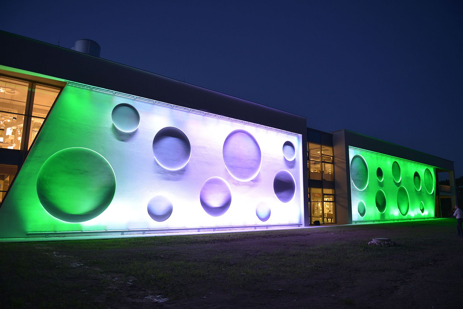 Philips LED centrum, Beroun