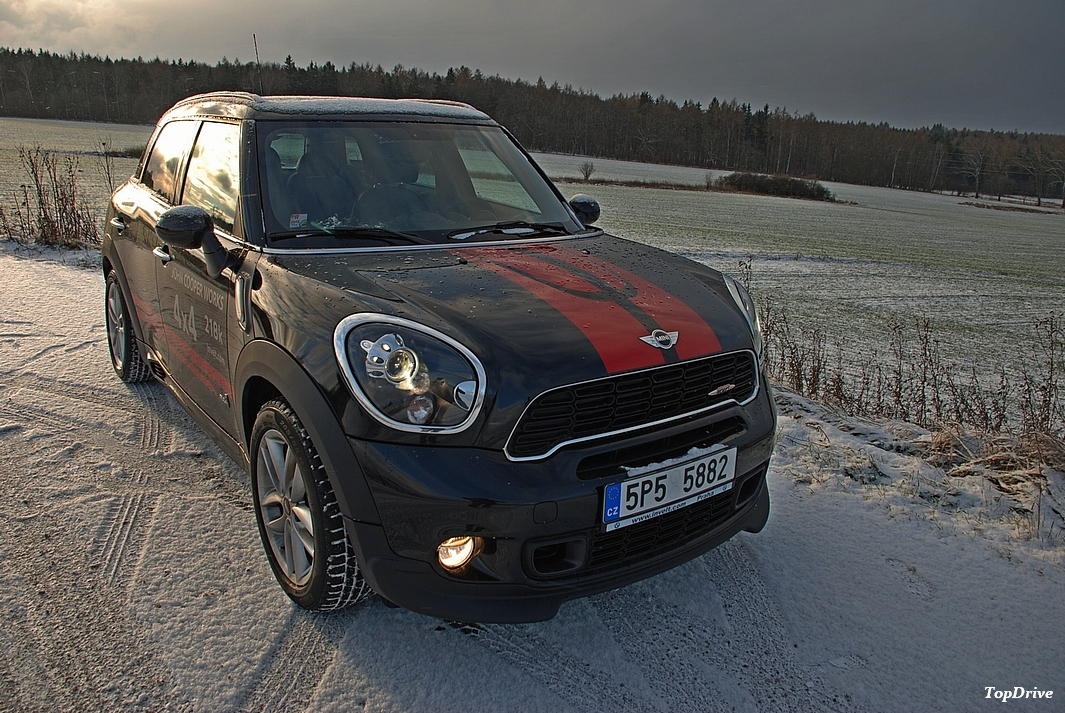 fotogalerie mini john cooper works countryman test. Black Bedroom Furniture Sets. Home Design Ideas