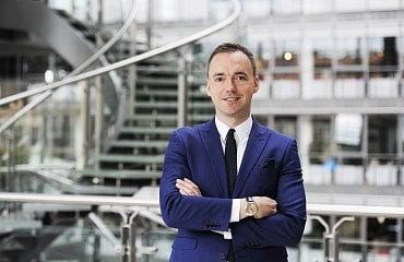 Michal Malysa, Head of Group Communications firmy Eurowag. (8. 4. 2021)