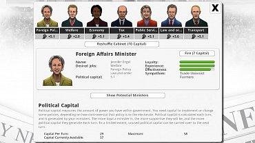 Democracy 3 - obrázky ze hry.