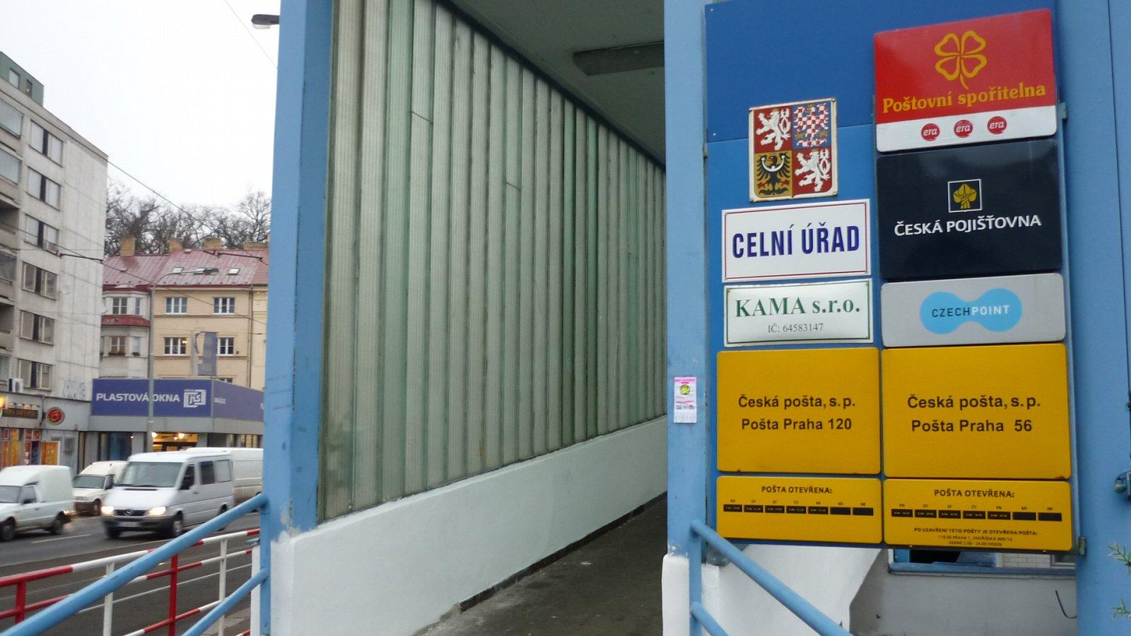 Česká pošta, třídírna Praha-Malešice