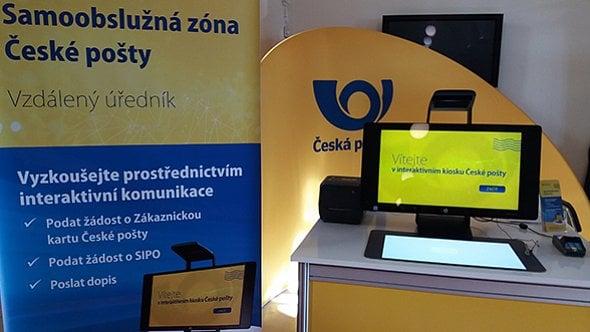 [aktualita] Česká pošta začne nasazovat samoobslužné kiosky, nahradí lidi za přepážkou