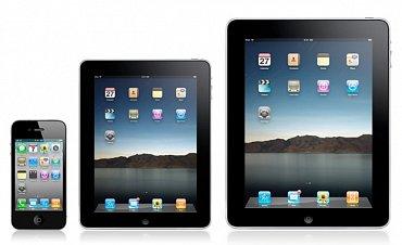 iPad Mini (uprostřed) (Zdroj: Cult of Mac)