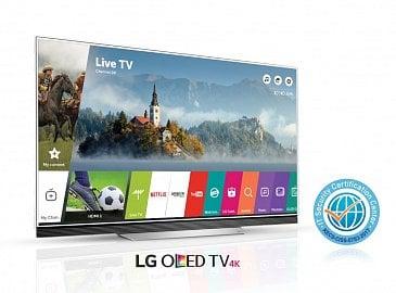 LG OLED TV – bezpečnostní certifikát.