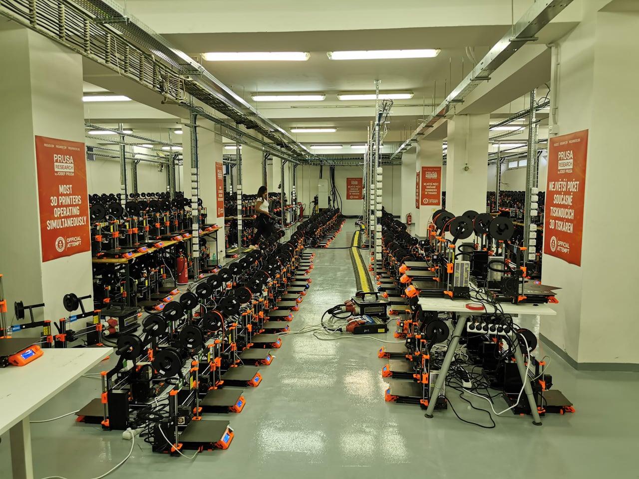 Průša: Guinnessova kniha rekordů a tisíc 3D tiskáren v chodu