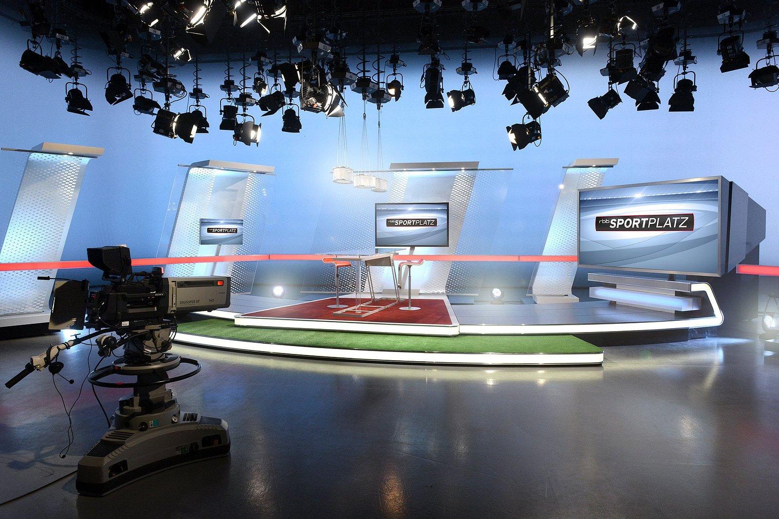 Vysílací prostory stanice rbb pro Berlín a Braniborsko