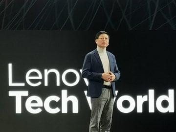 Yang Yuanqing, výkonný ředitel společnosti Lenovo