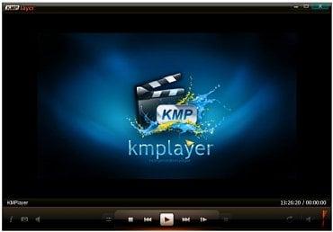Jeden z povedených skinů pro KMPlayer