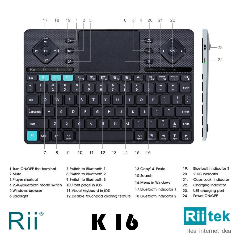 Rii K16