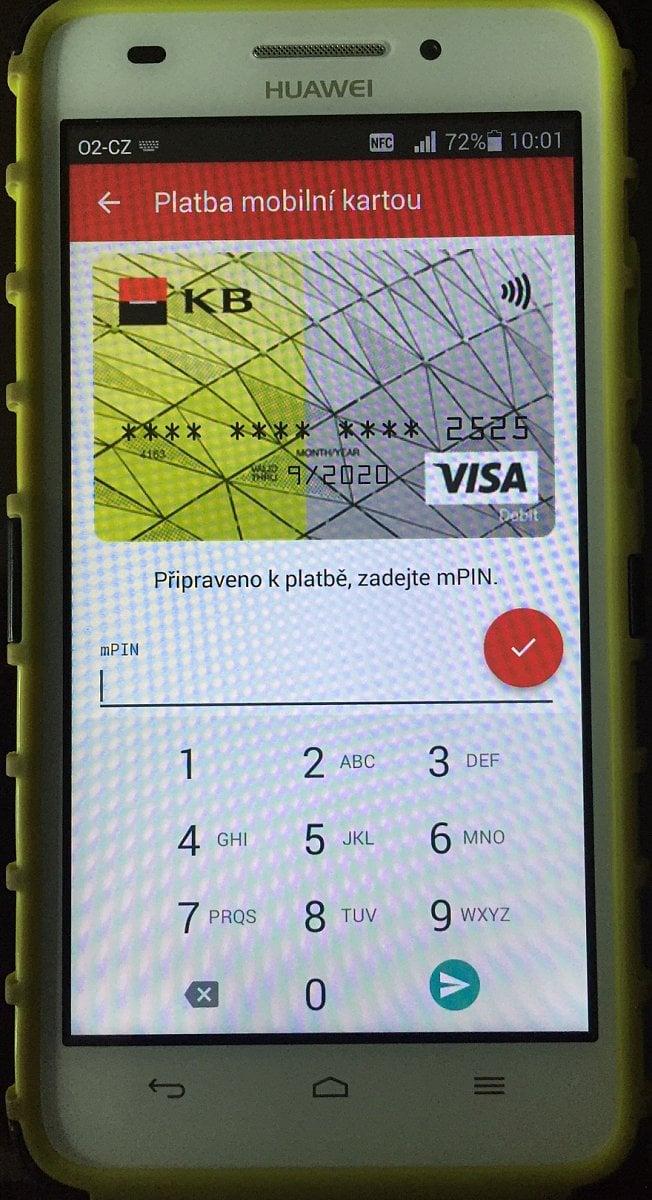 Nfc Karta Od Komercky Bezpecna Karta V Mobilu Mesec Cz