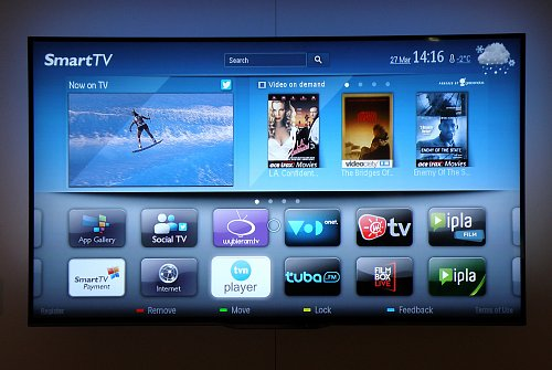 Prostředí Smart TV v televizorech Philips