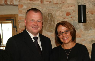 Robert Králíček a Adriana Krnáčová.