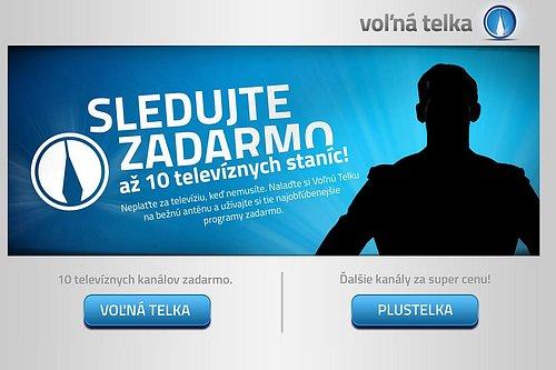 Podoba nových webových stránek volnatelka.sk