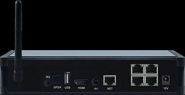 Nový set-top box Antik Mini 3 s celou řadou rozhraní. Nechybí Wi-Fi, Ethernet (LAN) a ani digitální audio výstup se kterým mají boxy často problém stejně, jako s Wi-Fi.
