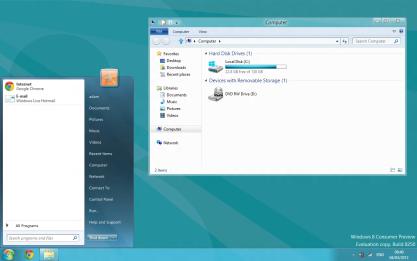 Pomocí Windows 8 Start Menu dodáte tlačítko Start do Windows 8