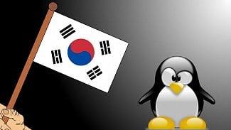 Korea s tuxem