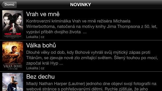 Videopůjčovna Topfun pro operační systém iOS