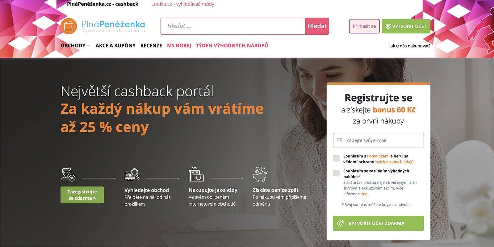 České cashback portály