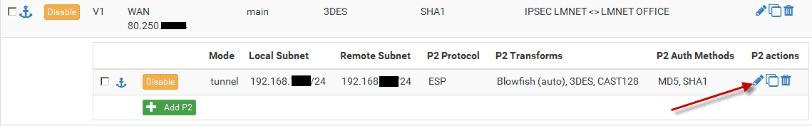Firewall pfSense: VPN IPSec tunely a HA režim - Root cz